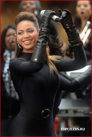 Beyonce на Today show (26.11.2008)