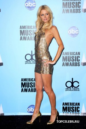 Paris Hilton на American Music Awards