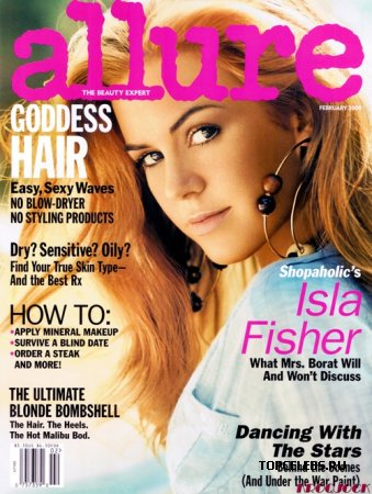 "Isla Fisher в журнале ""Allure"" (февраль 2009)"