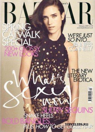 "Jennifer Connelly в журнале ""Harper's Bazaar"" (февраль 2009)"