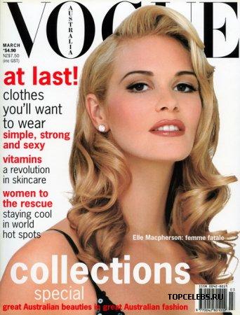"""Elle Macpherson в журнале """"Vogue"""""""
