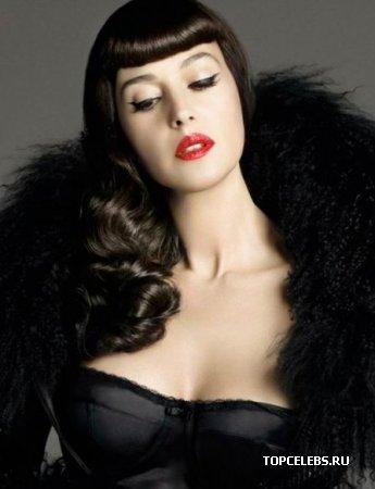 """Monica Bellucci в журнале """"Elle"""" (декабрь 2008)"""