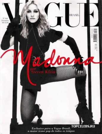 """Madonna в журнале """"Vogue"""" (декабрь 2008)"""