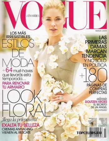 "Doutzen Kroes в журнале ""Vogue"" (март 2009)"