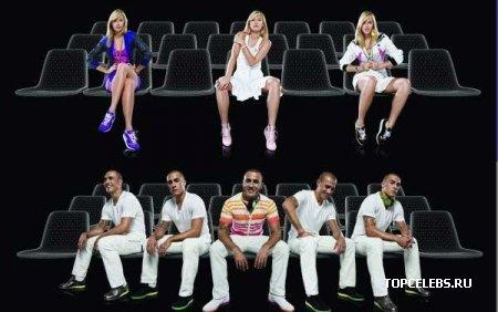 "Мария Шарапова и Fabio Cannavaro для ""Nike"""