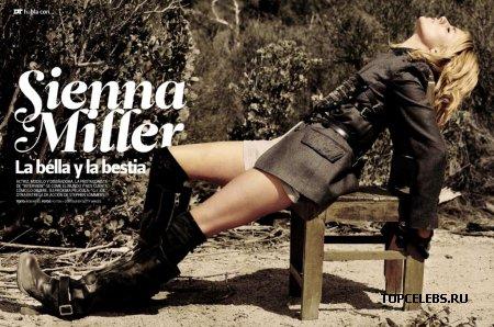 """Sienna Miller в журнале """"DT Magazine"""" (апрель 2009)"""