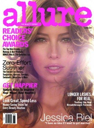 "Jessica Biel в журнале ""Allurе"" (июнь 2009)"
