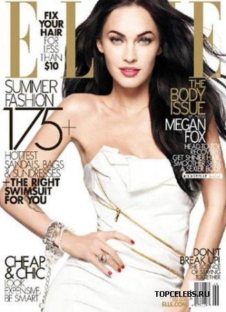 "Megan Fox в журнале ""Elle"" (июнь 2009)"