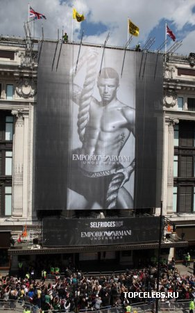 David Beckham - лицо Emporio Armani
