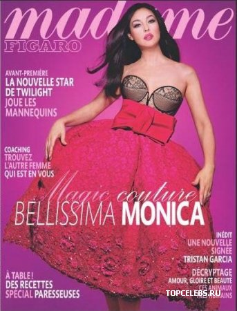 "Monica Bellucci в журнале ""Madame Figaro"" (август 2009)"