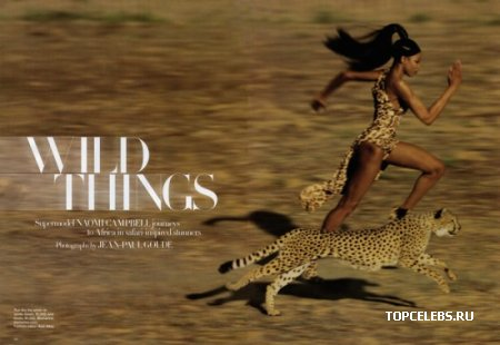 "Naomi Campbell в журнале ""Harper's Bazaar"" (сентябрь 2009)"