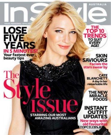 "Cate Blanchett в журнале ""InStyle Russia"" (ноябрь 2009)"