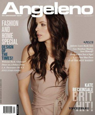 "Kate Beckinsale в журнале ""Angeleno"" (сентябрь 2009)"