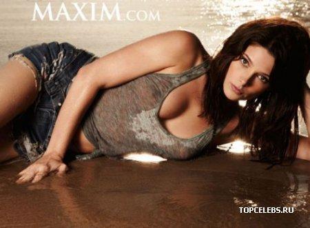 "Ashley Green в журнале ""Maxim"" (декабрь 2009)"