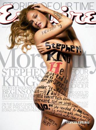 "Bar Refaeli в журнале ""Esquire US"" (июль 2009)"