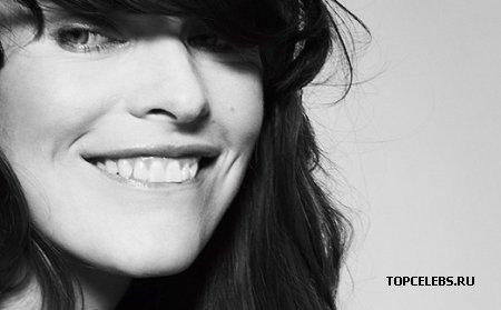 "Milla Jovovich в журнале ""Elle France"""