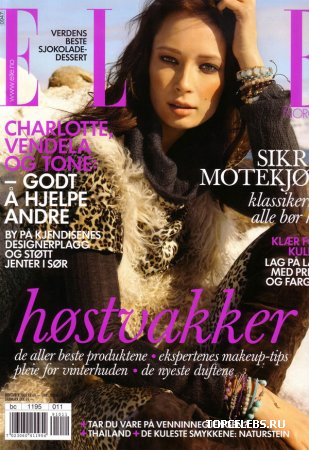 "Tiiu Kuik в журнале ""Elle Norway"" (ноябрь 2009)"