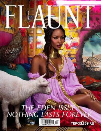 "Naomi Campbell в журнале ""Fluant Magazine"""