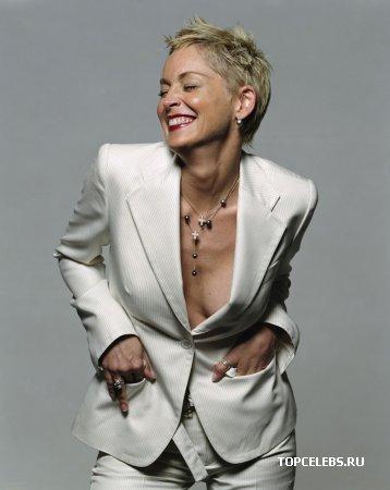 Sharon Stone в фотосессии Michel Comte (2004)