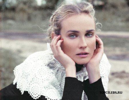 Diane Kruger глазами Karl Lagerfeld