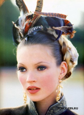 "Kate Moss в журнале ""Vogue Italia"" (октябрь 1992)"