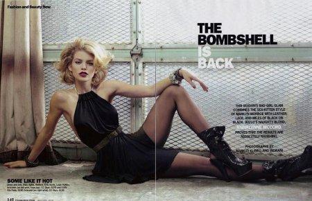 Annalynne McCord в журнале Cosmopolitan (январь 2010)