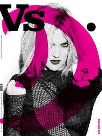 Drew Barrymore в журнале VS (2009)