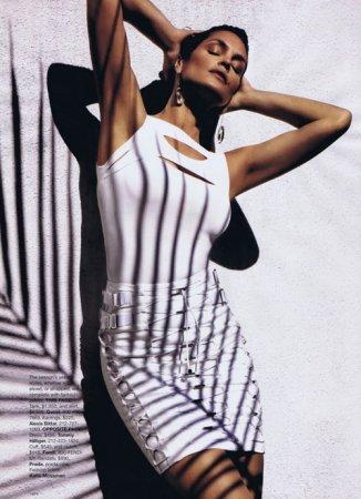 Cindy Crawford в журнале Harper's Bazaar (март 2010)
