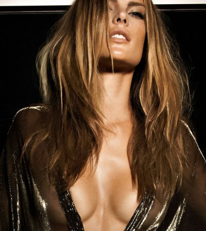 Alessandra Ambrosio в журнале Vogue Homem (апрель 2009)