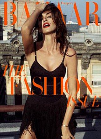 Cindy Crawford в журнале Harper's Bazaar (февраль 2010)