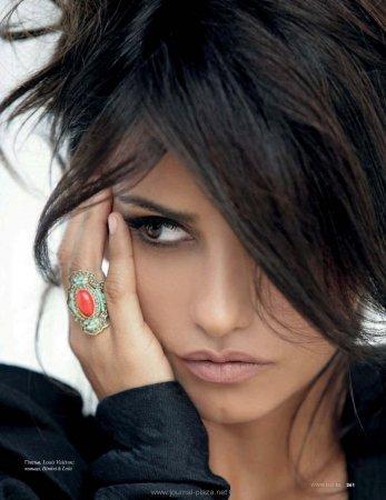 Monica Cruz в журнале Elle (февраль 2010)