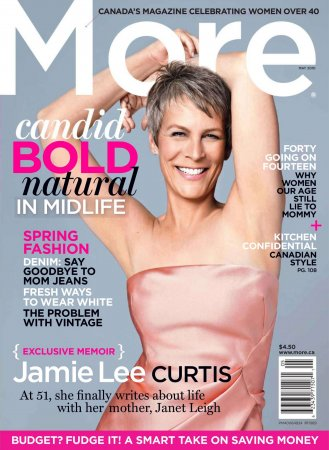 Jamie Lee Kurtis в журнале More Canada (май 2010)