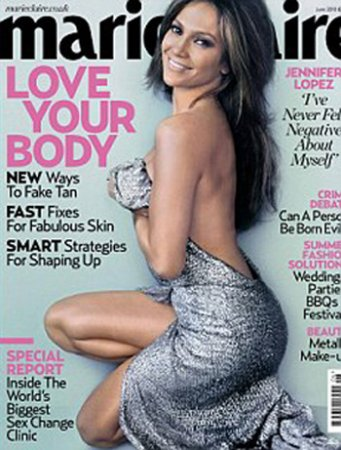 Jennifer Lopez в журнале Marie Claire (июнь 2010)
