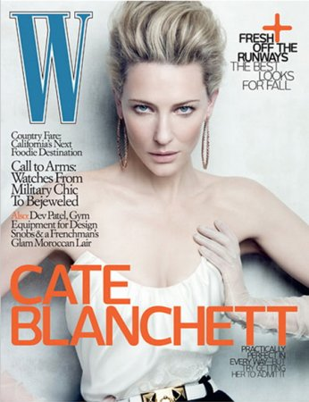 Cate Blanchett в журнале W Magazine (июнь 2010)