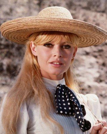 Brigitte Bardot на съёмках фильма Viva Maria! (1965)