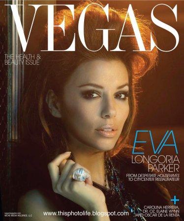 Eva Longoria в журнале Vegas Magazine (2010)