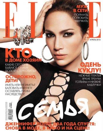 Jennifer Lopez в журнале Elle Russia (апрель 2010)