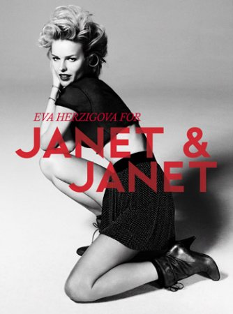 Eva Herzigova для Janet&Janet