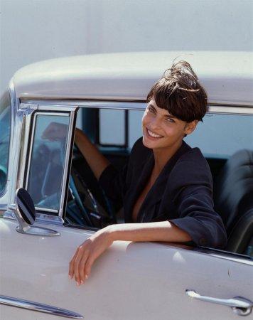 Linda Evangelista в фотосессии Steven Meisel (1994)