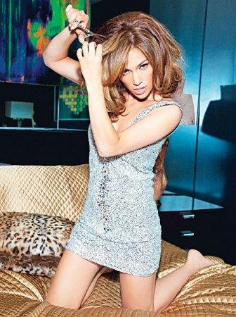 Jennifer Lopez в журнале Glamour US (сентябрь 2010)