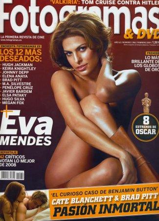 Eva Mendes в журнале Fotogramas (февраль 2009)