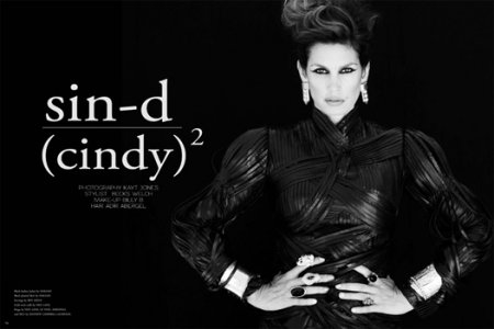 Cindy Crawford в журнале Bullet (ноябрь 2010)