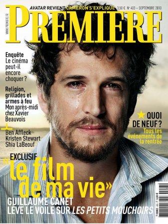 Guillaume Canet в журнале Premiere-403 France (сентябрь 2010)