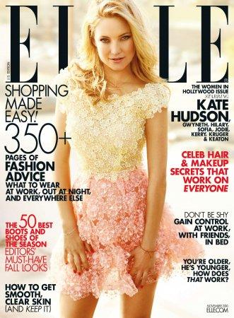 Kate Hudson в журнале Elle US (ноябрь 2010)