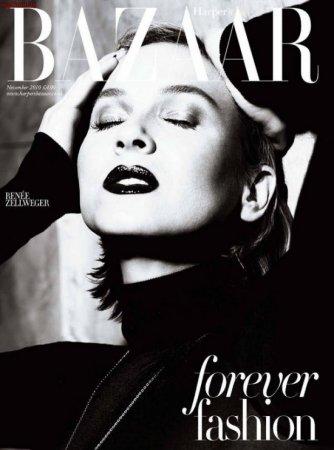 Renee Zellweger в журнале Harper's Bazaar (ноябрь 2010)