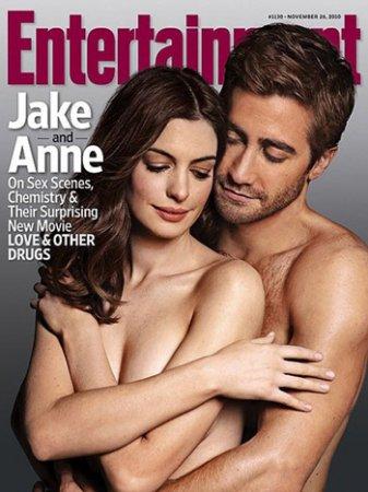 Anne Hathaway и Jake Gyllenhaal в журнале Entertainment Weekly (2010)