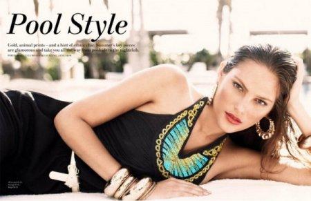 Catherine McNeil в журнале H&M Magazine (лето 2010)