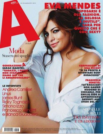 Eva Mendes в журнале A Italy (ноябрь 2010)