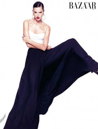 Alessandra Ambrosio в журнале Harper's Bazaar Spain (2011)