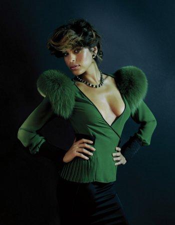 Eva Mendes в журнале Flaunt (2004)